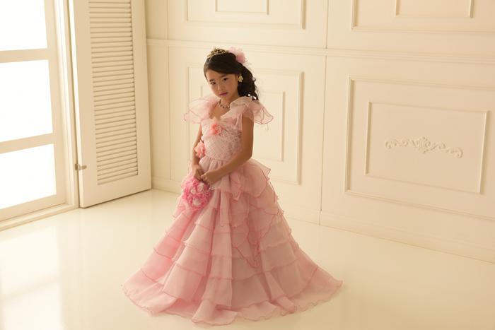 七五三5歳女の子No.4 size100-ピンク