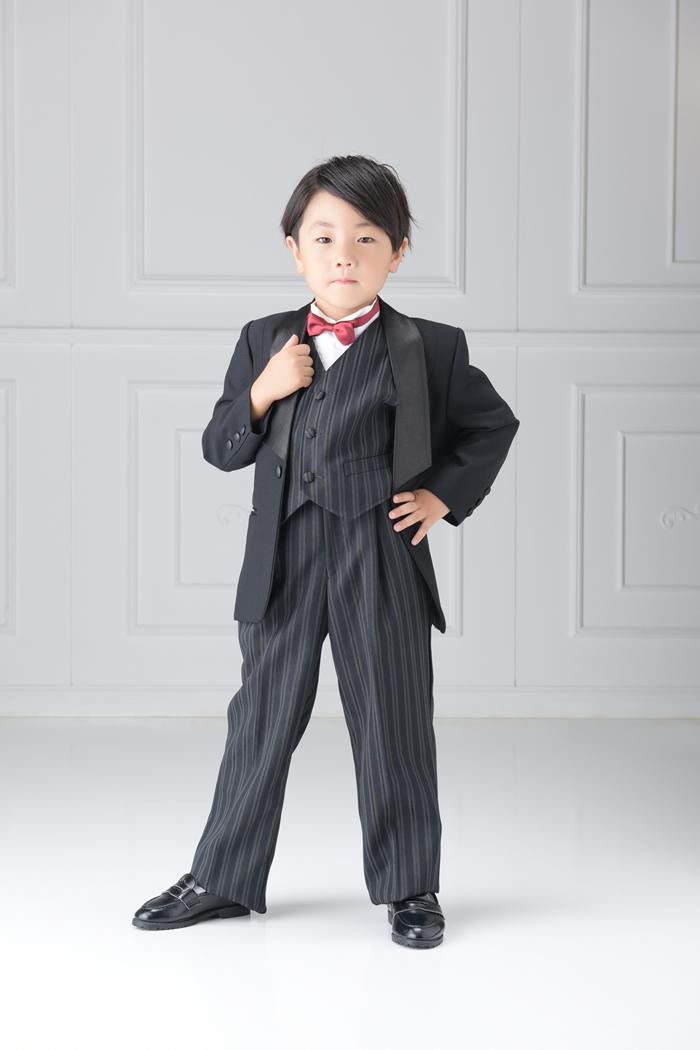 七五三5歳男の子No.12 size110-黒