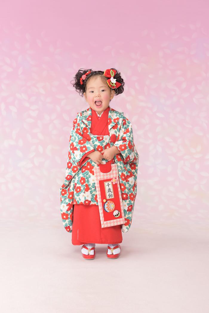 七五三3歳女の子No.12