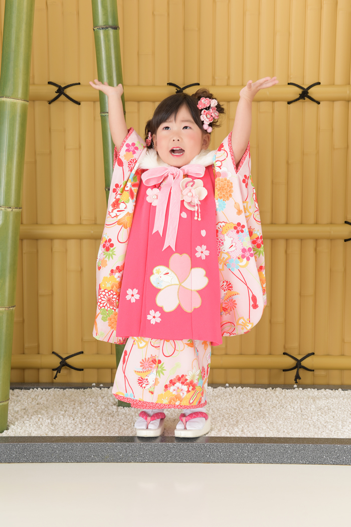 七五三3歳女の子 No.HF-5