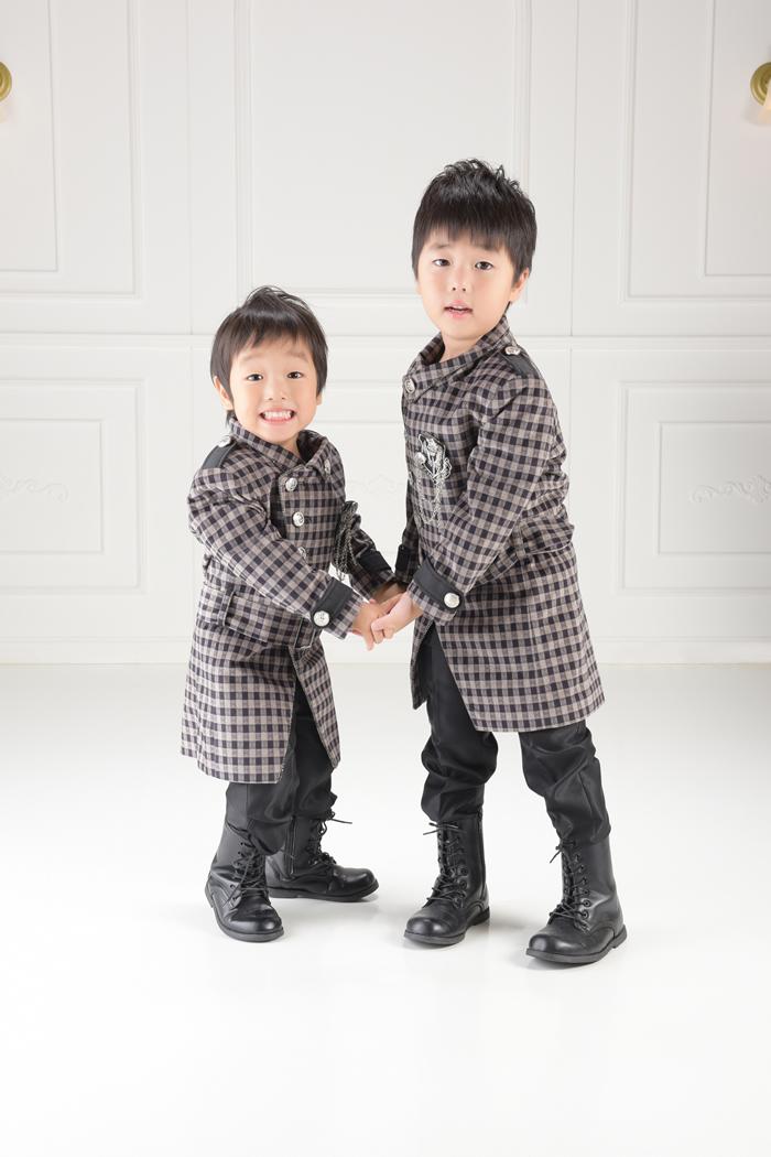 七五三3歳,5歳男の子No.1 size100,size110-チェック
