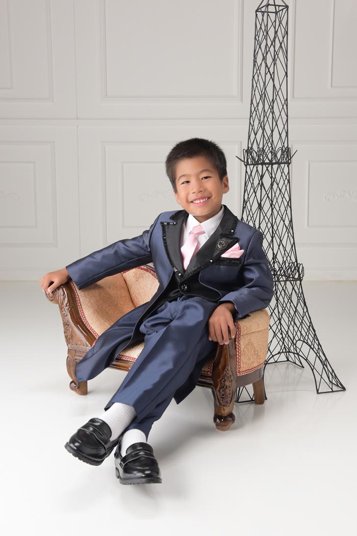 七五三5歳男の子No.13 size110-紺