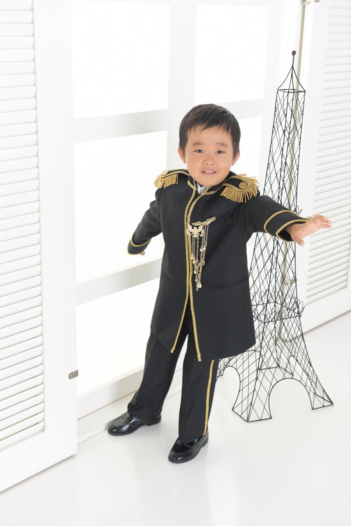 七五三5歳男の子No.10 size110-黒