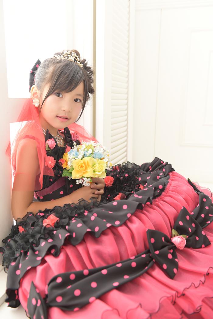 七五三7歳女の子No.9 size110-黒