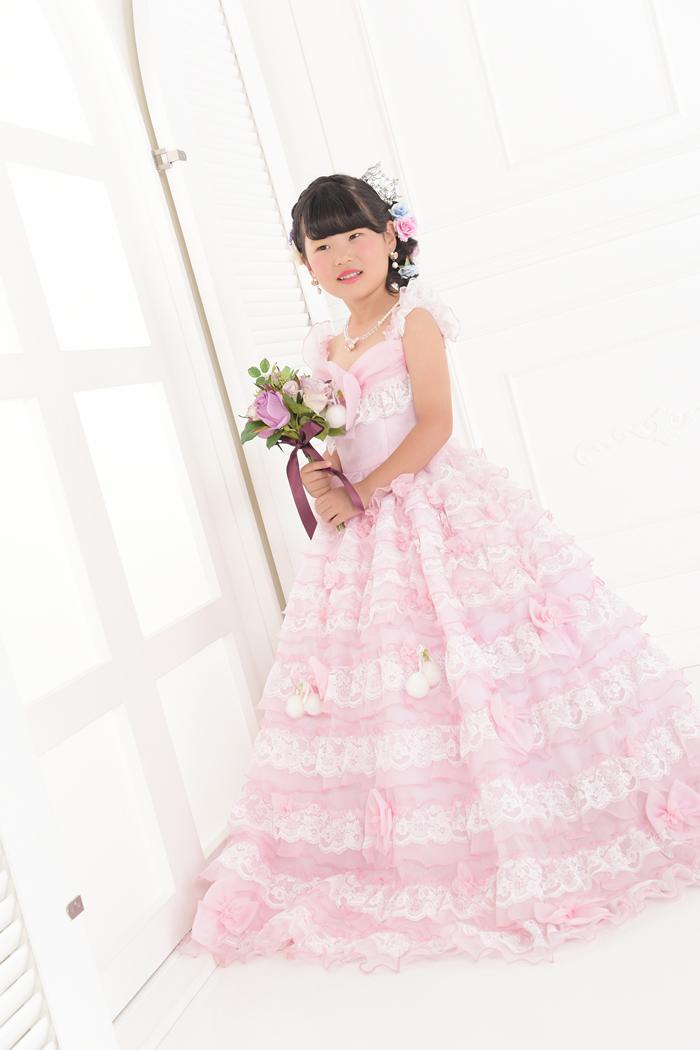 七五三7歳女の子No.7 size120-ピンク