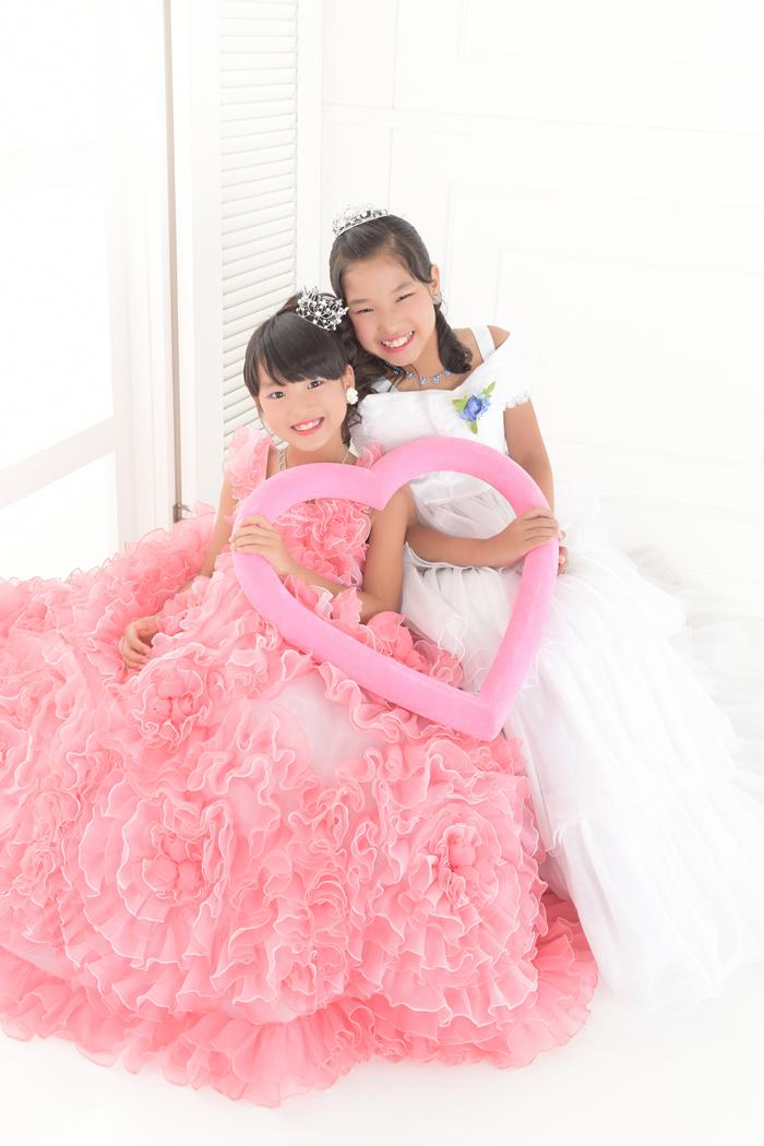 七五三7歳女の子No.8 size120-ピンク,No.2 size120-白