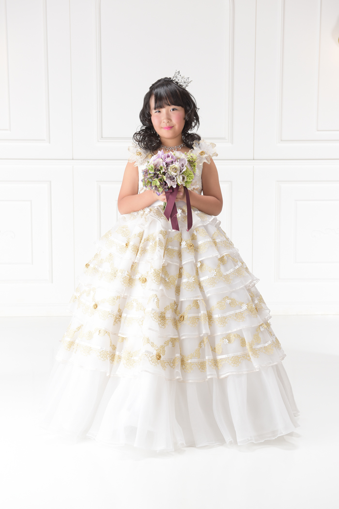 七五三7歳女の子No.3 size120-白