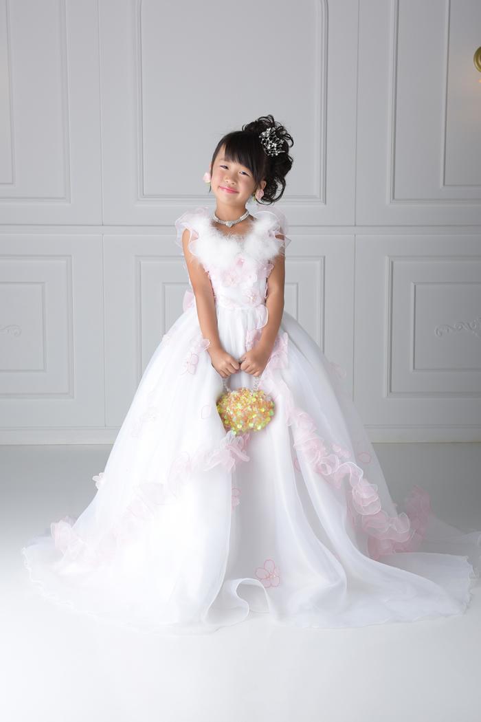 七五三7歳女の子No.4 size120-白