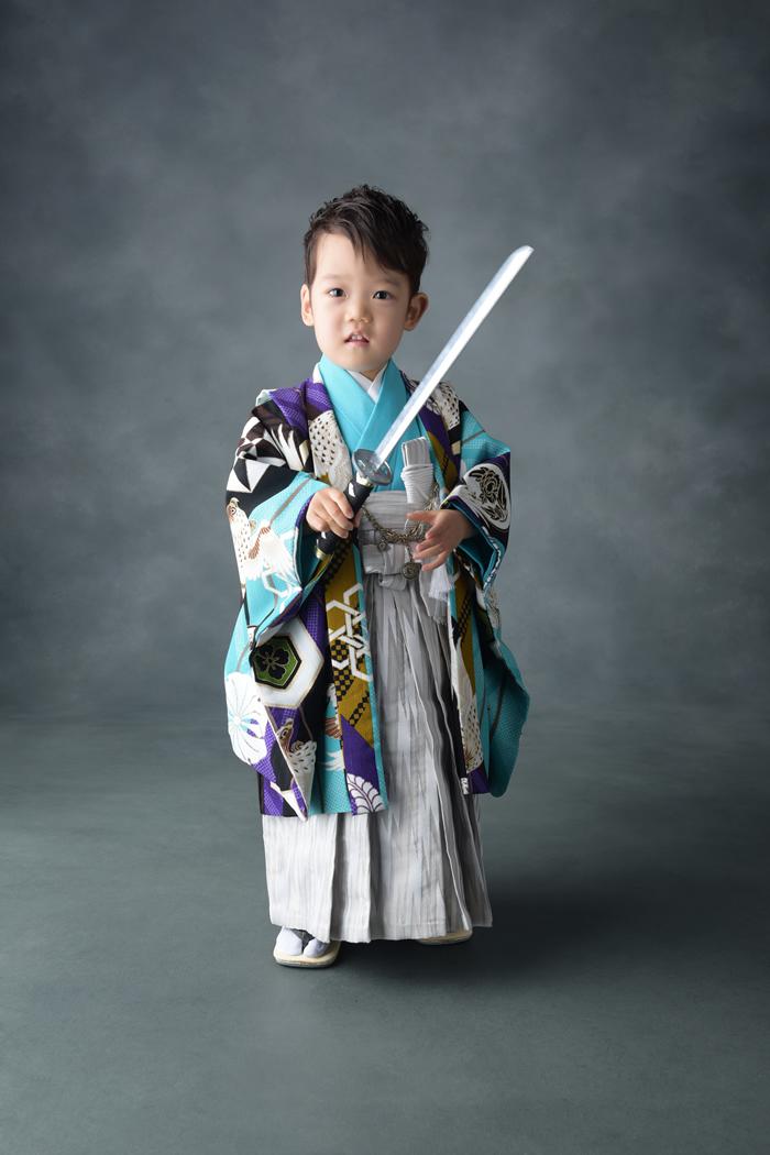 七五三3歳男の子 No.JM-1