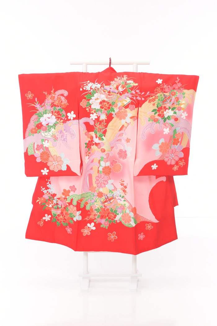お宮参りレンタル衣装No.455