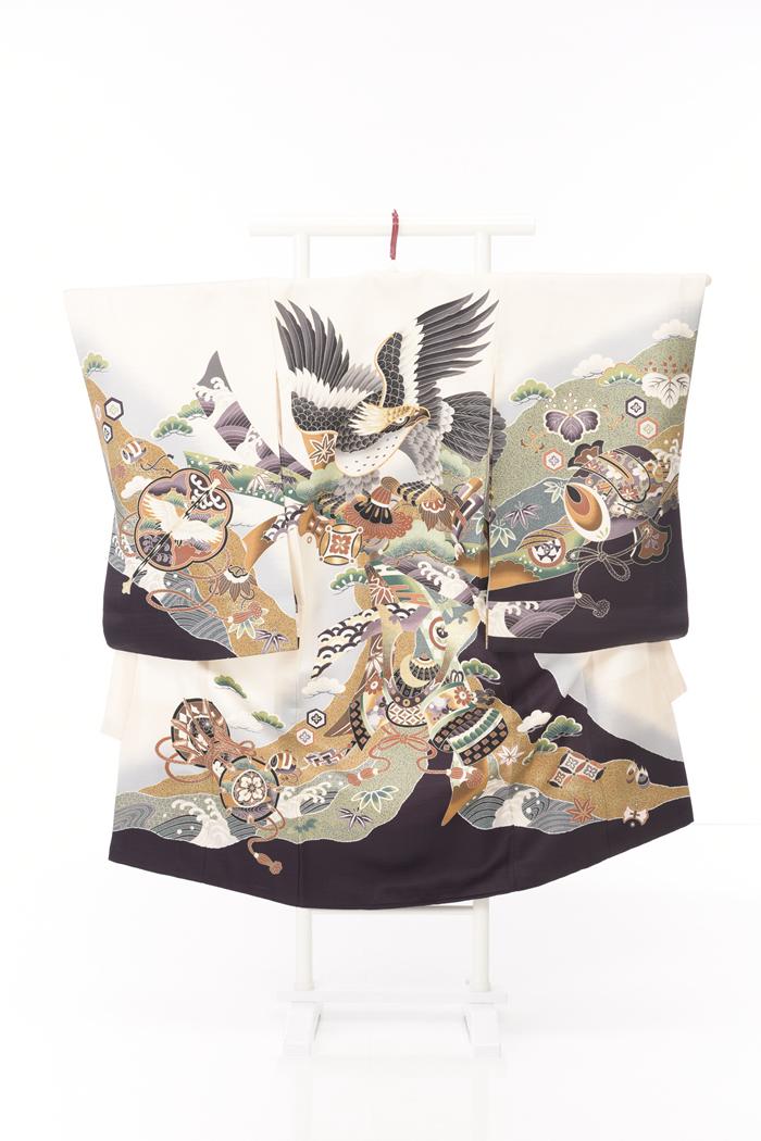 お宮参りレンタル衣装No.466